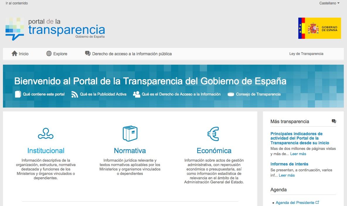 2015, transparencia estatal y autonómica