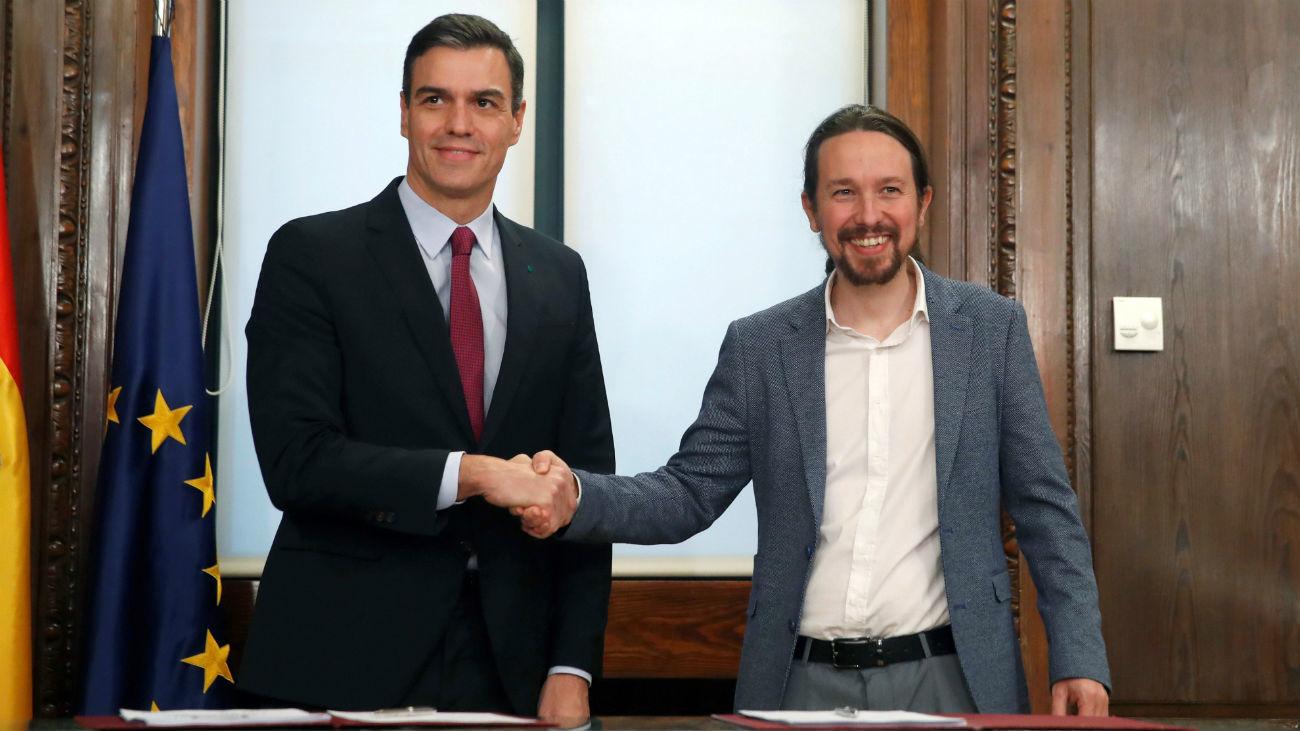 Iniciativas sobre transparencia y buen gobierno – Acuerdo PSOE-Unidas Podemos