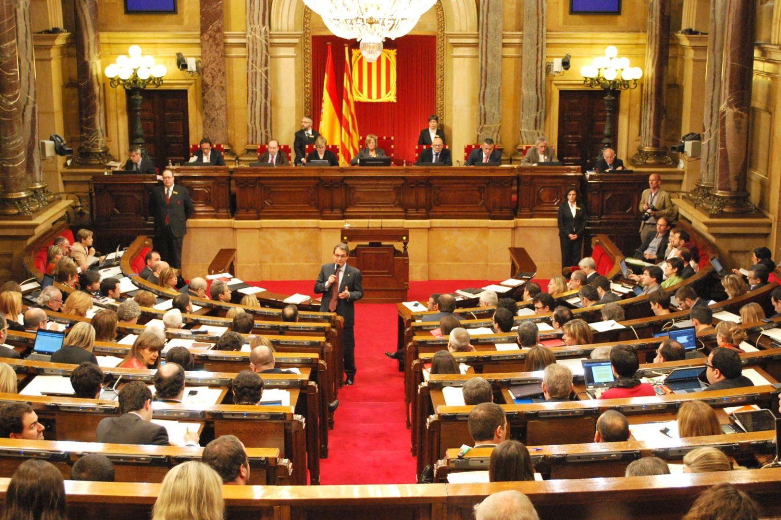 Iniciativas parlamentarias sobre transparencia y puertas giratorias – Cataluña